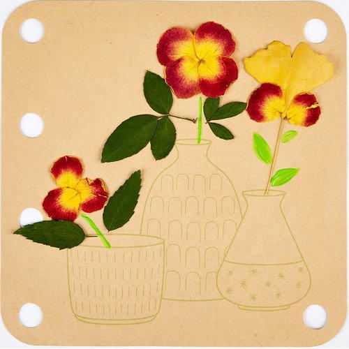 Hape Bloemen Pers Art DIY Kit