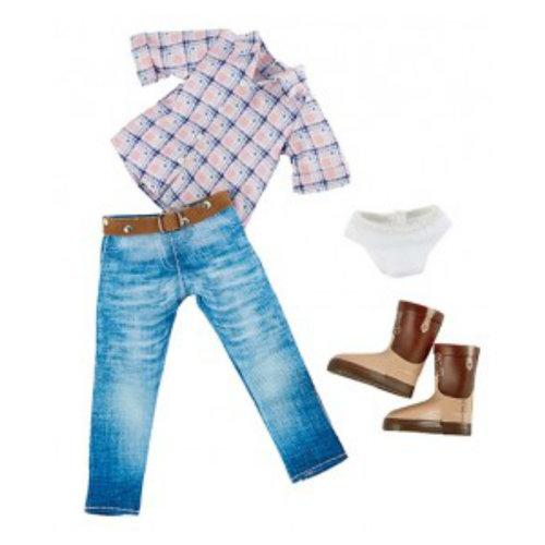 Käthe Kruse Kruselings Chloe Riding Cowgirl Outfit
