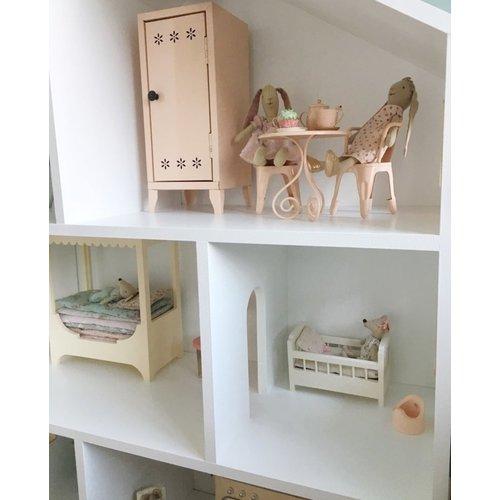 Project Dollhouse Maileg Poppenhuis met Grijze details