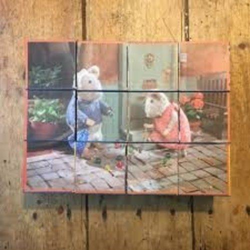 Het Muizenhuis Blokken Puzzel