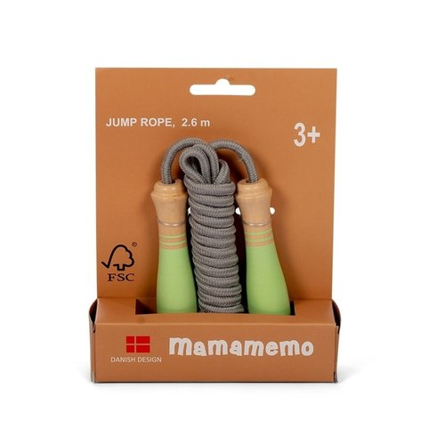 MaMaMeMo  Springtouw Dusty Groen