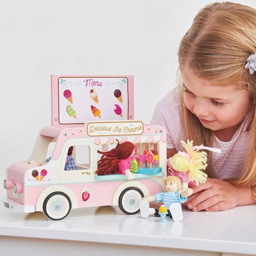 Le Toy Van Dolly Houten IJscowagen