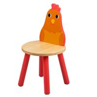 Houten Kinderstoel Kip