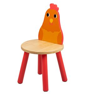Tidlo Houten Kinderstoel Kip
