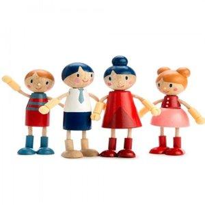 Tender Leaf Toys Poppenhuis Familie