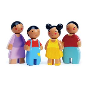 Tender Leaf Toys Poppenhuis Familie Sunny