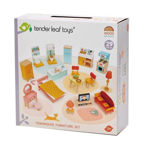 Tender Leaf Toys Poppenhuis Meubelset Herenhuis