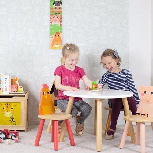 Tidlo Houten Kindertafel Boerderij