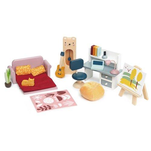 Tender Leaf Toys Poppenhuis Studeerkamer