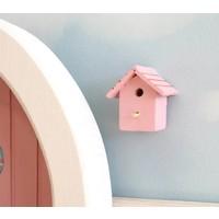 Vogelhuisje Roze