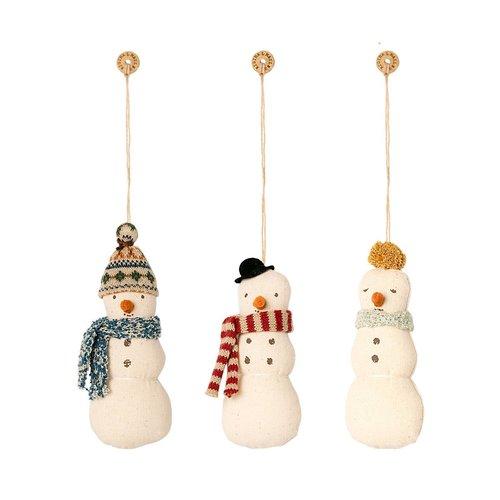 Maileg Kerstversiering Sneeuwpop (1st)