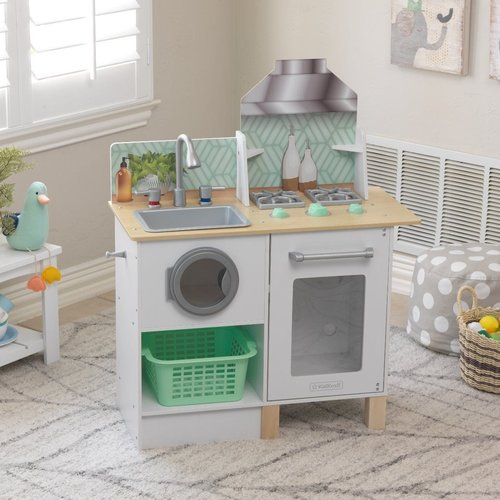 Kidkraft Whisk & Wash Keuken en Wasmachine