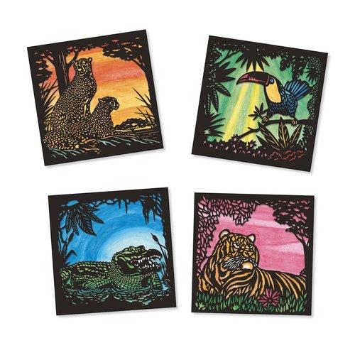 Djeco Aquarel Jungledieren