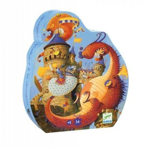 Djeco Puzzel Ridders en Draken