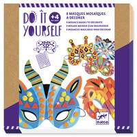 Knutsel Set Jungle Maskers