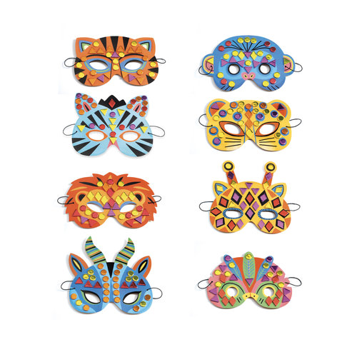 Djeco Knutsel Set Jungle Maskers