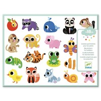 Stickers Babydieren - 120 st