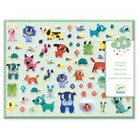 Dikke Stickers Dieren Vriendjes - 134 st