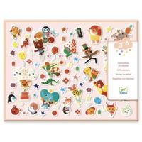 Dikke Stickers Feest - 126 st