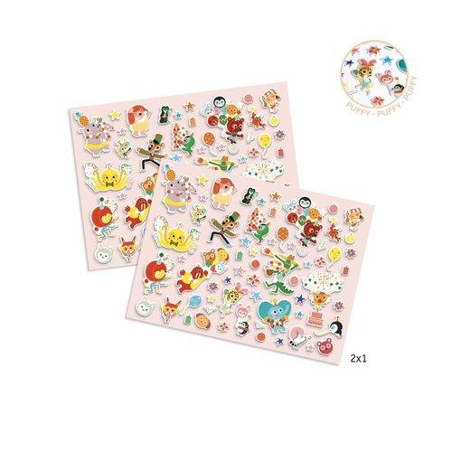 Djeco Dikke Stickers Feest - 126 st