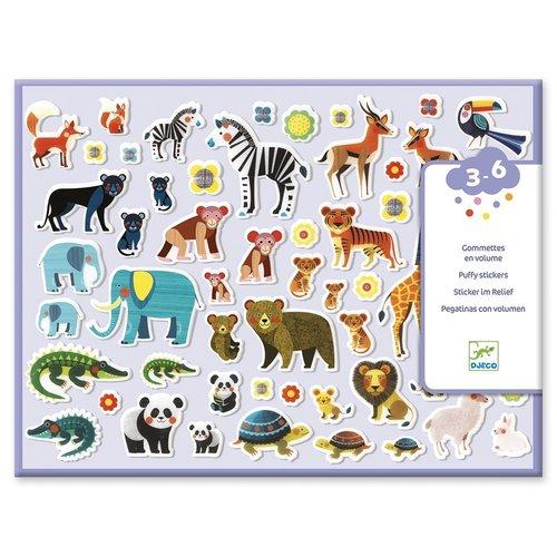 Djeco Dikke Stickers Moeder en Kind - 118 st
