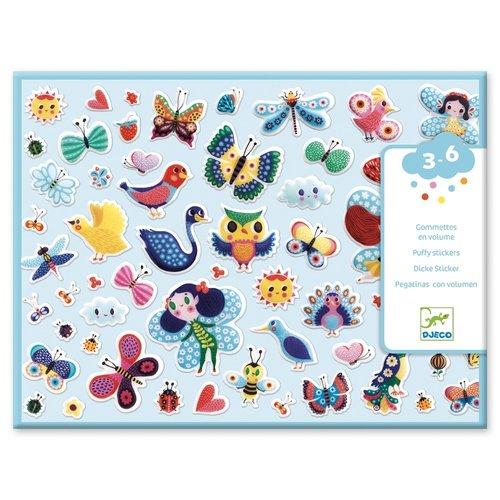 Djeco Dikke Stickers Kleine Vleugels - 120 st
