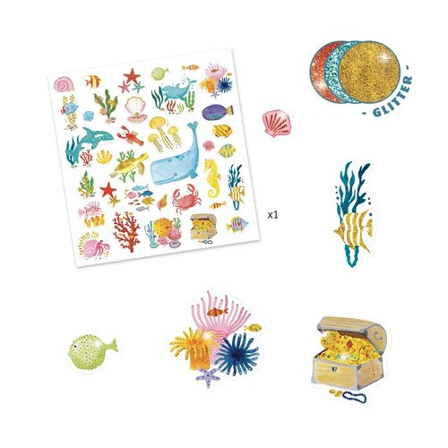 Djeco Stickers Water Droom - 30 st