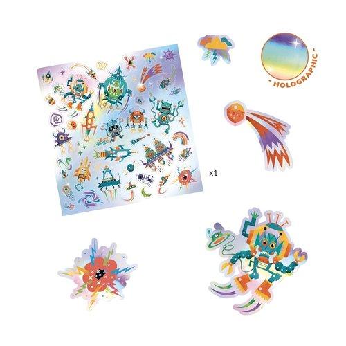 Djeco Stickers Galaxy - 30 st