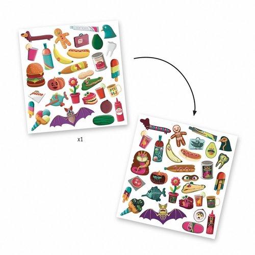 Djeco Stickers Röntgenvisie - 30 st