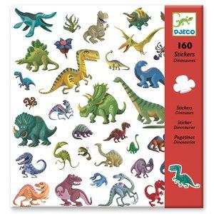 Djeco Stickers Dinosaurussen - 160 st