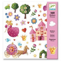 Stickers Prinsessen - 160 st