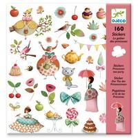 Stickers Prinsessen Theekransje - 160 st