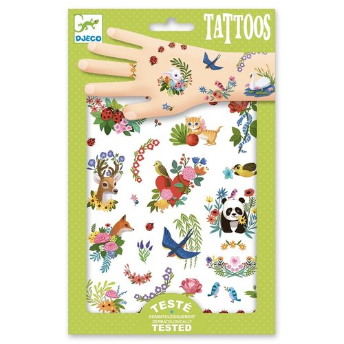 Djeco Tatoeages Lente