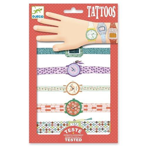 Djeco Tatoeages Horloge