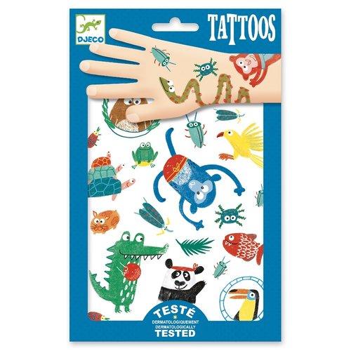 Djeco Tatoeages Grappige Dieren