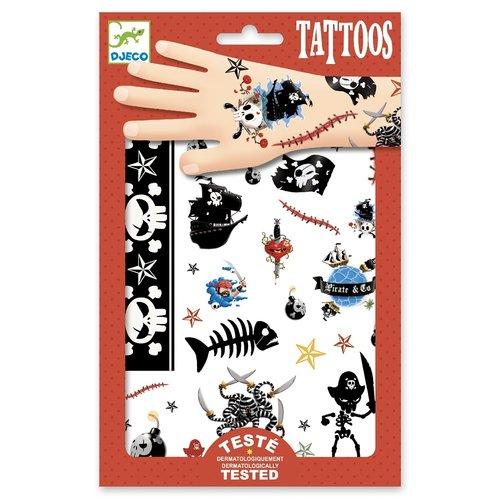Djeco Tatoeages Piraten