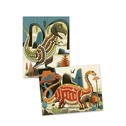 Djeco Knutsel Set Mozaïek Dinosaurus