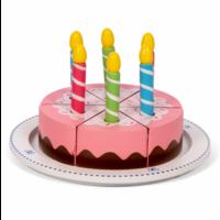 Verjaardagstaart met Kaarsjes