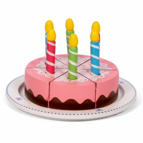 MaMaMeMo Verjaardagstaart met Kaarsjes
