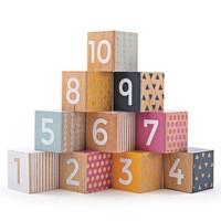 Houten Blokken Nummers