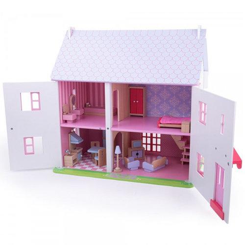 Bigjigs Poppenhuis Rose Cottage