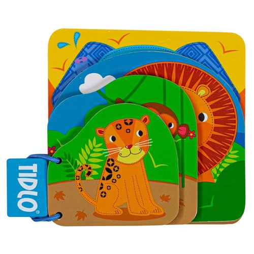 Tidlo Boek Jungledieren
