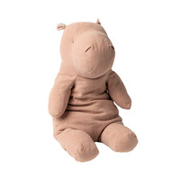 Safari Friends Nijlpaard Dusty Roze - 54 cm