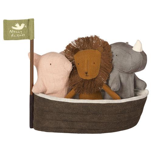 Maileg Noah's Ark met 3 knuffels