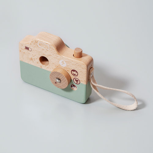 Petit Monkey Camera Blauw