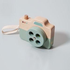 Petit Monkey Camera Blauw