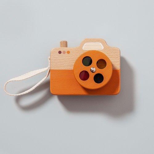 Petit Monkey Camera Oranje
