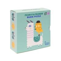 Peanut & Friends Blokken Puzzel