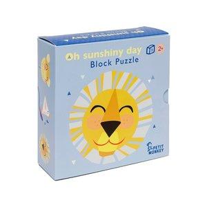 Petit Monkey Oh Shiny Day Blokken Puzzel