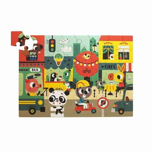 Petit Monkey Puzzel In the City 48 st